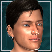 M4 Facial Piercings - click to download -